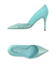Jean Michel Cazabat Pumps Light Green