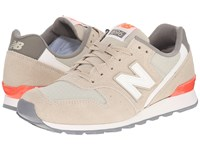 New Balance Wl696v1 Beach Sand Dragonfly Women's Running Shoes Brown