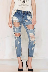 Trashed Freebird Jeans Vintage Blue