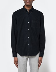 Our Legacy 1950'S Shirt Black Peeled Flannel