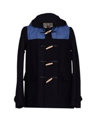 Montgomery Coats Dark Blue
