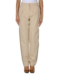 Lanvin Casual Pants Sand