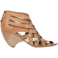 Marsell Woven Back Zip Sandals Neutral
