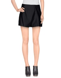 Jil Sander Navy Skirts Mini Skirts Women Black