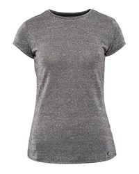 Ted Baker Misy Sparkle Fitted T Shirt Grey
