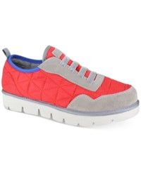 Mia Thomas Lace Up Sneakers Women's Shoes Red