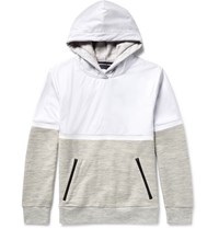 Under Armour Sportswear Portwear Pivot Hell And Loopback Jerey Hoodie Light Gray