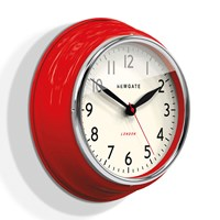 Newgate Clocks The Cookhouse Wall Clock Red