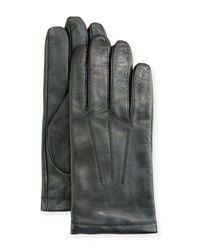Ugg Leather Tech Dress Gloves Black