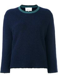 3.1 Phillip Lim Crew Neck Jumper Blue