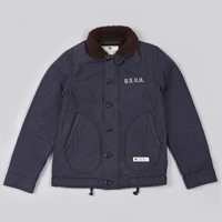 Neighborhood N 1D Deck Jacket Navy