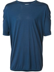 Maison Martin Margiela Short Sleeve T Shirt Blue