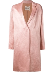 Lanvin Classic Coat Pink And Purple