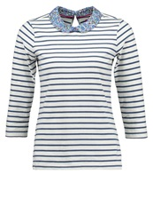 Joules Tom Joule Long Sleeved Top Offwhite Off White