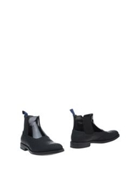 Alberto Guardiani Ankle Boots Dark Blue