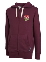 Ellis Rugby Men's English Zipper Hoodie Plum
