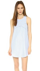 J.O.A. Shifting Mini Dress Baby Blue
