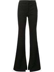 Tibi Flared Trousers Black