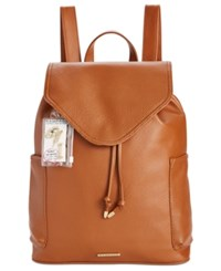 Rampage Customizable Perforated Pocket Backpack With Pins Only At Macy's Cognac