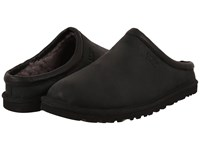 Ugg Classic Clog Black Leather Men's Clog Shoes