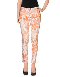 0039 Italy Trousers Casual Trousers Women Orange