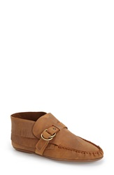 Bettye By Bettye Muller 'Teepee' Fringe Moccasin Bootie Women Wheat Leather