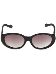 Courreges 'Sourcil' Sunglasses Black