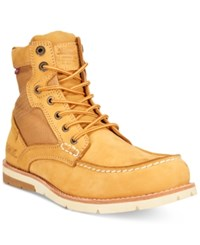 Levi's Dawson Canvas Moc Toe Boots Men's Shoes Wheat