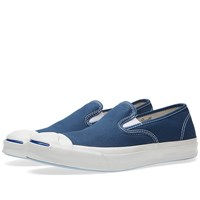 Converse Jack Purcell Signature Slip On Blue