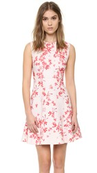 Giambattista Valli Sleeveless Dress Red Pink