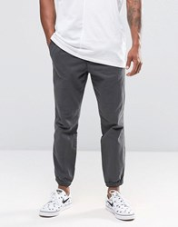Abercrombie And Fitch Cuffed Joggers Woven Black Black