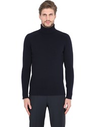 Lardini Wool And Cashmere Turtleneck Sweater