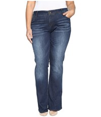 Kut From The Kloth Plus Size Natalie High Rise Bootcut Jeans In Adaptive Adaptive Women's Jeans Blue
