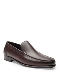 A. Testoni Leather Loafers Moro