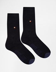 Levi's Crew Socks In 2 Pack Blue