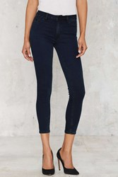 Nasty Gal Res Denim Kitty Cropped Skinny Jeans
