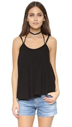 Free People So In Love With You Tank Black
