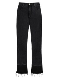 Rachel Comey Legion High Rise Slim Leg Jeans Black