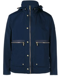 Moncler Gamme Bleu Nylon Field Jacket Navy Blue