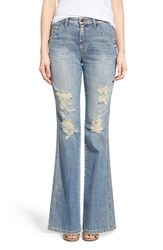 Joe's Jeans Women's Joe's 'Collector's Wasteland' High Rise Destroyed Flare Jeans Bev