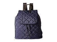 Le Sport Sac City Gramercy Backpack Ink Denim Quilted Backpack Bags Navy
