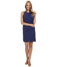 Tommy Bahama Eyelet Love You Dress Deep Space Women's Dress Blue