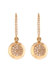 Aurelie Bidermann Diamond And Yellow Gold Earrings