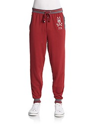 Psycho Bunny French Terry Lounge Pants Port