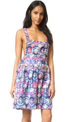 All Things Mochi Jaipur Overall Dress Blue