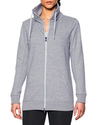 Under Armour Spring Terry Funnelneck Jacket Grey