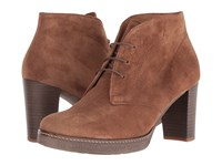 Gabor 55.750 Ranch Dreamvelour Women's Lace Up Boots Brown