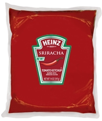 Heinz Ketchup Blended With Sriracha Flavor 10 Pouch Pack Heinz Foodservice