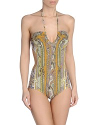 Isabel Marant One Piece Swimsuits Cocoa