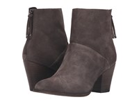 Chinese Laundry Kind Smoke Grey Heart Suede Women's Boots Gray